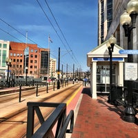 Photo taken at The Tide: Civic Plaza Station by David S. on 3/6/2017