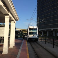 Photo taken at The Tide: Civic Plaza Station by David S. on 5/14/2013