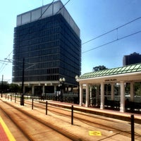 Photo taken at The Tide: Civic Plaza Station by David S. on 7/26/2016