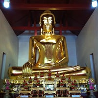 Photo taken at Wat Sao Thong Tong by ลูก ก. on 12/26/2012