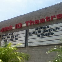 Photo taken at AMC Dine-in Theatres Coral Ridge 10 by Ian S. on 6/27/2013