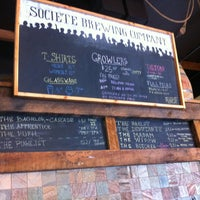 Photo taken at Societe Brewing Company by Angela R. on 4/5/2013