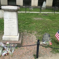 Photo taken at Paul Revere's Tomb by Richard F. on 5/13/2016