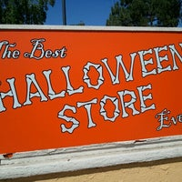 photo taken at the best halloween store ever by ryann r on 9