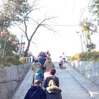 Photo taken at 二宮神社 by Akinori M. on 1/1/2014