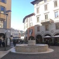 Photo taken at Bergamo Città Bassa by Tuğçe Ç. on 2/16/2017