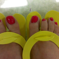 Photo taken at Angelique Nail Spa by Florence R. on 5/25/2013