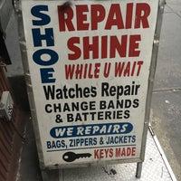Photo taken at David Shoe Repair by Nari K. on 3/15/2016