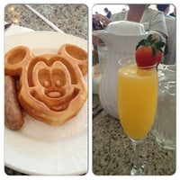 Photo taken at Grand Floridian Cafe by Erica B. on 4/21/2013