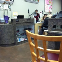 Photo taken at Regal Nails by Felicia L. on 1/12/2013