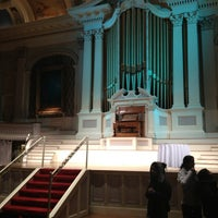 Photo taken at Mechanics Hall by Allison T. on 1/25/2013