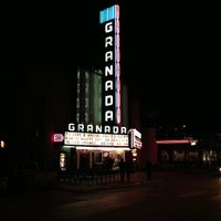Photo taken at Granada Theater by Anthony G. on 2/8/2013