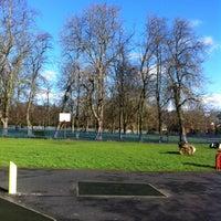 Photo taken at Brunswick Park by Stephen W. on 2/1/2014