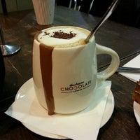 Photo taken at Theobroma Chocolate Lounge by liza m. on 11/4/2013