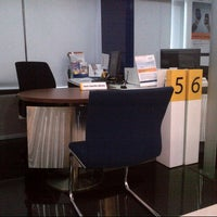 Photo taken at Bank Mandiri by Yessica R. on 9/18/2012