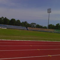 Photo taken at Stadion Wijayakusuma Cilacap by Farkhan S. on 1/11/2014