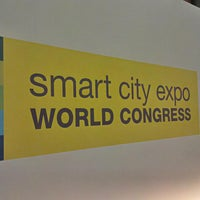 Photo taken at Smart City Expo by Albert C. on 11/19/2013