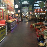 Photo taken at Gangneung Central Market by Son C. on 8/1/2013