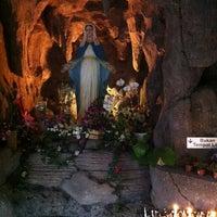 Photo taken at Gereja Katolik Santa Monika by Riezs S. on 12/7/2012