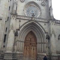 Photo taken at Catedral de Santiago de Bilbao by Victor G. on 4/22/2013