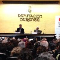 Photo taken at Centro Cultural Diputacion de Ourense by César F. on 1/16/2014