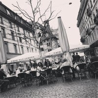 Photo taken at Café du Centre by Amrita Laurence L. on 4/16/2013