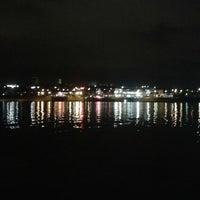 Photo taken at Lago Paranoá by Carla C. on 4/17/2014