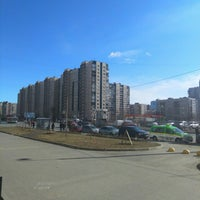 Photo taken at Двор ул. Композиторов 12 by Полина П. on 3/18/2016