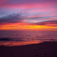Photo taken at City Beach by OuDaJo O. on 4/7/2013