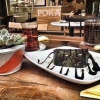 5/9/2016 tarihinde Gülce B.ziyaretçi tarafından Poka Coffee Roasters'de çekilen fotoğraf