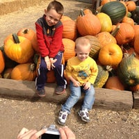 Photo taken at Vala's Pumpkin Patch by Stacey K. on 9/24/2012