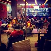 Photo taken at Cafe Hubble Bubble by Çağla Y. on 2/20/2013