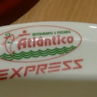 Photo taken at Restaurante e Pizzaria Atlântico Express by Paulo H. on 5/5/2016
