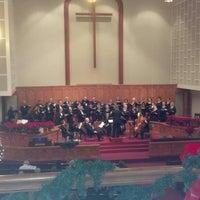 Photo taken at Forest Hills Methodist Church by Gene T. on 12/15/2013