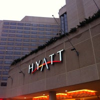 Photo taken at Hyatt Regency Crystal City at Reagan National Airport by Yazeed Q. on 1/16/2013