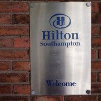 Photo taken at DoubleTree by Hilton Hotel Southampton by Rich D. on 8/9/2014