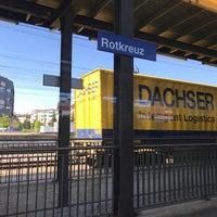 Photo taken at Bahnhof Rotkreuz by Rich D. on 4/29/2017