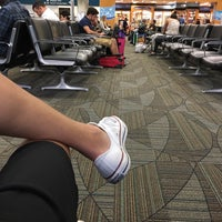 Photo taken at Gate D8 by Zoltan V. on 7/13/2017