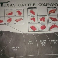 Photo taken at Texas Cattle Company by Christine P. on 1/25/2013