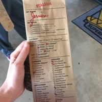 Photo taken at Which Wich? Superior Sandwiches by Jessica J. on 10/5/2016