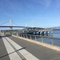 Photo taken at Pier 38 by Baran Emrah D. on 3/14/2016