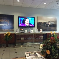 Photo taken at Park Cities Ford of Dallas by Steven R. on 3/24/2014