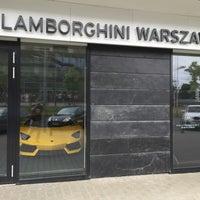 Photo taken at Lamborghini Warszawa by Cezary Z. on 6/20/2015