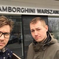 Photo taken at Lamborghini Warszawa by Cezary Z. on 2/15/2015