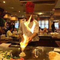 Photo taken at Sakura Japanese Steak, Seafood House & Sushi Bar by Bengi G. on 7/4/2013