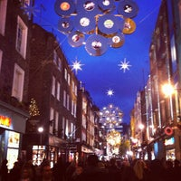 Photo taken at Carnaby Street by Joe l. on 11/30/2012