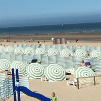 Photo taken at Koksijde-Bad by Christine L. on 5/25/2017