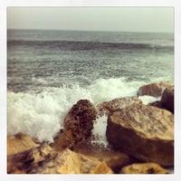 Photo taken at La Pobla de Farnals Beach by Bernat L. on 3/3/2013