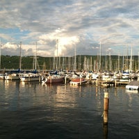Photo taken at Seneca Harbor Station by SuBarNYC on 7/5/2013