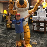 Photo taken at The Mizzou Store by Laurey T. on 7/11/2016